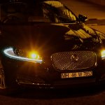 Jaguar XF head lights