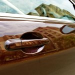 Jaguar XF door handle