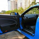 Jaguar XKR-S frameless door