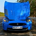 Jaguar XKR-S hood