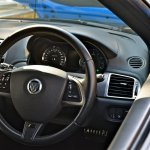 Jaguar XKR-S steering wheel