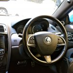 Jaguar XKR-S driver steering wheel
