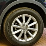 Alloy wheels of Audi Q3 petrol