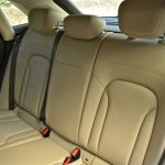 Rear seats of Audi Q3 petrol