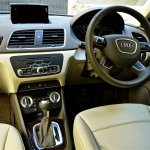 Interiors of Audi Q3 petrol