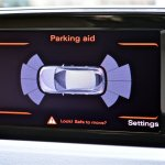 Parking sensors in Audi Q3 petrol