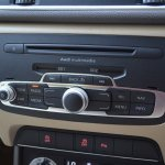 Music system interface in Audi Q3 petrol