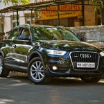 Front of the Audi Q3 petrol