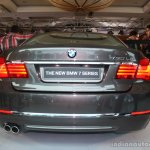 2013 BMW 7 series front rear