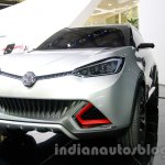 MG CS Concept Auto Shanghai 2013 front quarter front fascia low angle