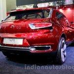 Citroen DS Wild Rubis Concept auto shanghai 2013 rear quarter rear detailing