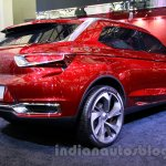 Citroen DS Wild Rubis Concept auto shanghai 2013 rear quarter left