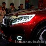 Citroen DS Wild Rubis Concept auto shanghai 2013 nose