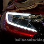 Citroen DS Wild Rubis Concept auto shanghai 2013 headlights