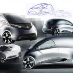 Tata Nano City Van Rendering side profile