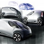 Tata Nano City Van Rendering front