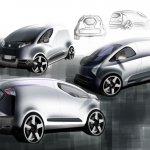 Tata Nano City Van Rendering rear