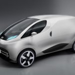 Tata Nano City Van Rendering front profile