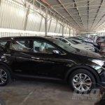 2013 Hyundai Santa Fe spied Malaysia side black