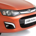 2013 Lada Kalina front-end