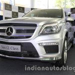 2013 Mercedes GL Class India front three quarter left