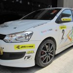 2013 VW Polo R CUP front three quarters