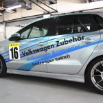 2013 VW Polo R CUP rear three quarters left
