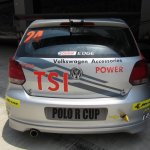 2013 VW Polo R CUP rear