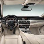 2014 BMW 5 Series dashboard