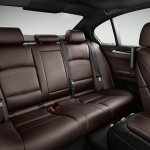 2014 BMW 5 Series rear seat