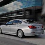 2014 BMW 5 Series rear three quarters