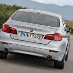 2014 BMW 5 Series rear
