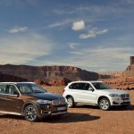 2014 BMW X5 Brown and White