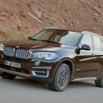 2014 BMW X5 brown front three quarter left