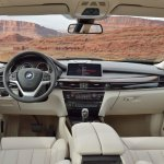 2014 BMW X5 interior ivory white