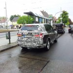 2014 BMW X5 prototype rear