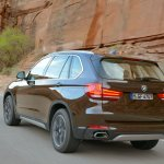 2014 BMW X5 rear three quarter left