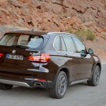 2014 BMW X5 rear three quarter right