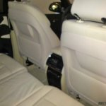 2014 BMW X5 spied rear seats
