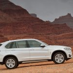 2014 BMW X5 white side