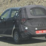 2014 Hyundai i10 rear three quarters spyshot