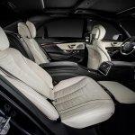 2014 Mercedes S Class cabin