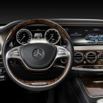 2014 Mercedes S Class steering wheel