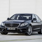 2014 Mercedes S Class front three quarter angle