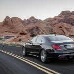2014 Mercedes S Class in motion