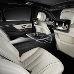 2014 Mercedes S Class rear seat experience