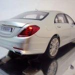 2014 Mercedes S Class scale model rear three quarter right