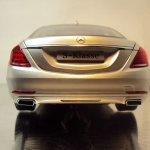 2014 Mercedes S Class scale model rear