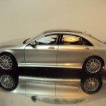 2014 Mercedes S Class scale model side