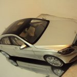 2014 Mercedes S Class scale model top view